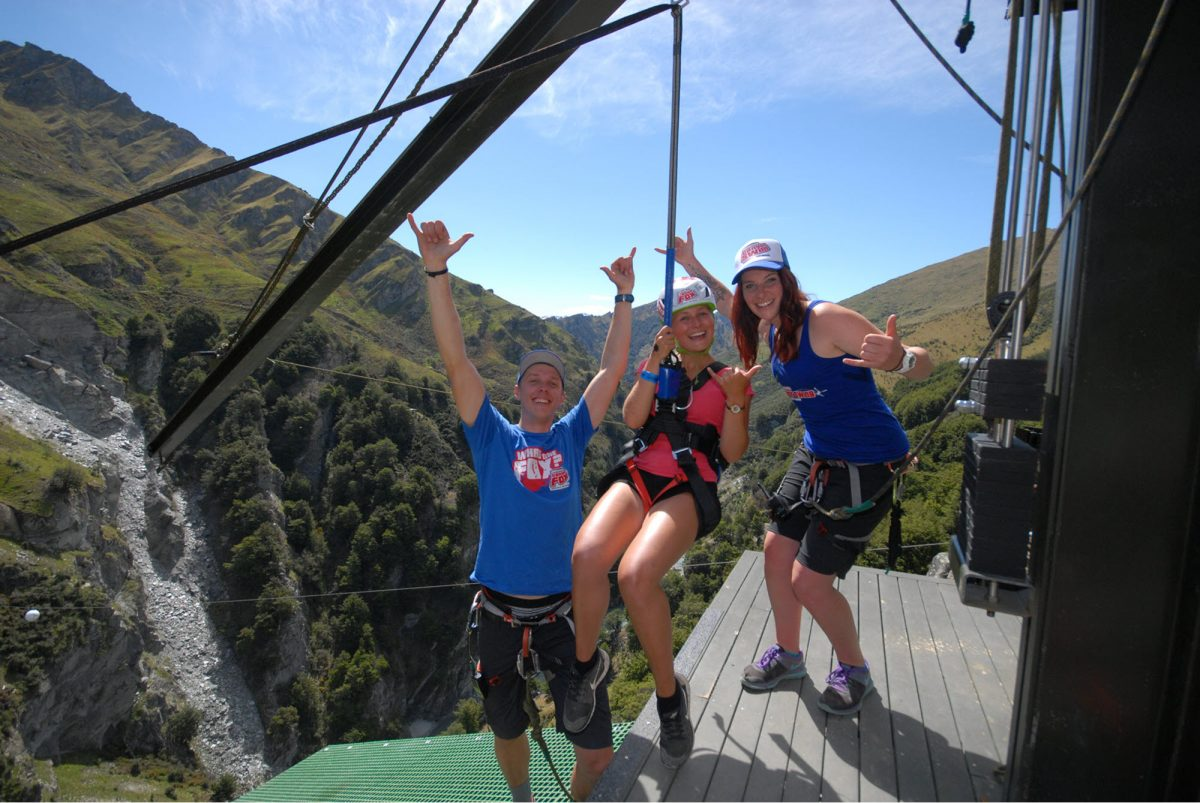 Canyon Swing Fox Queenstown