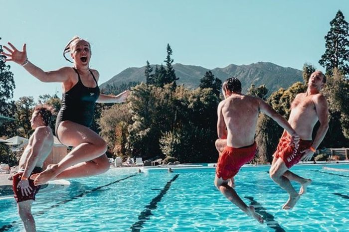 Hanmer Springs pools jump web med