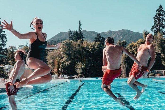 Hanmer Springs pools jump web med