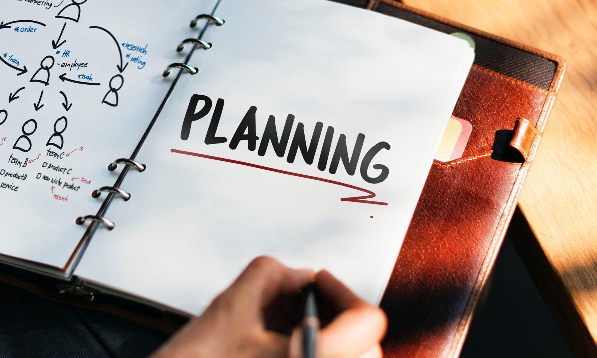 Travel Planning Notepad lrg