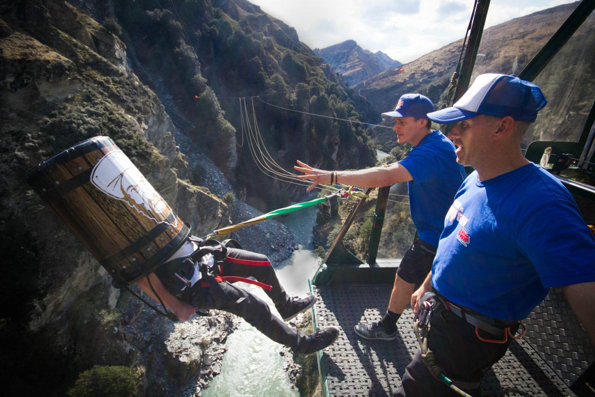 Shotover Canyon Swing Bin Laden