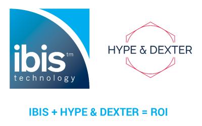 IBIS + Hype & Dexter = ROI